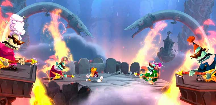 Rayman Legends para wii u, ps3, xbox 360
