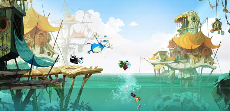 'Rayman Legends' toma PS3 y Xbox 360 / Wii U