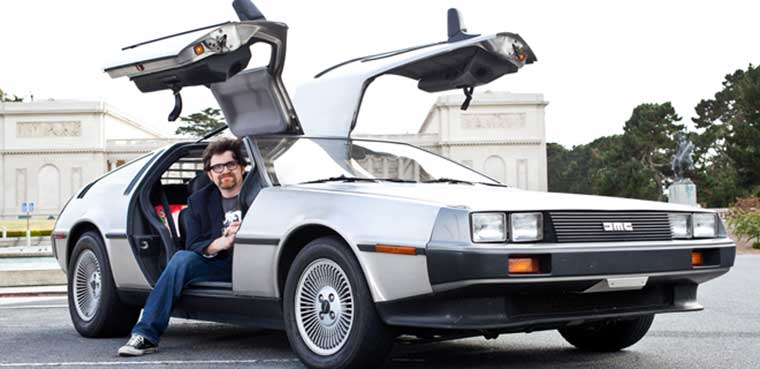 Ernest Cline Ready Player One Delorean