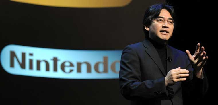 Satoru Iwata Nintendo Wii U