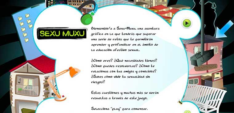 Educacion Afectivo-Sexual y Videojuegos: SEXU MUXU