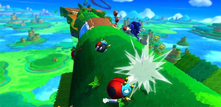 'Sonic Lost World' características exclusivas para Wii U y 3DS
