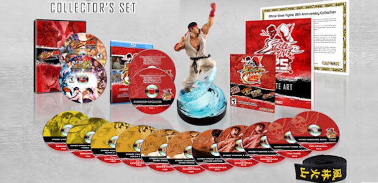 Anunciada la edición coleccionista de 'Street Fighter' con la que celebrará su 25 aniversario