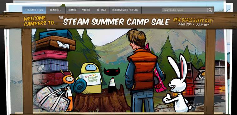 """Primeros datos acerca del """"Steam Summer Sale"""""""