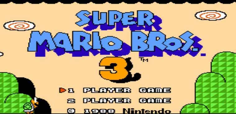 Super Mario Bros 3 3DS