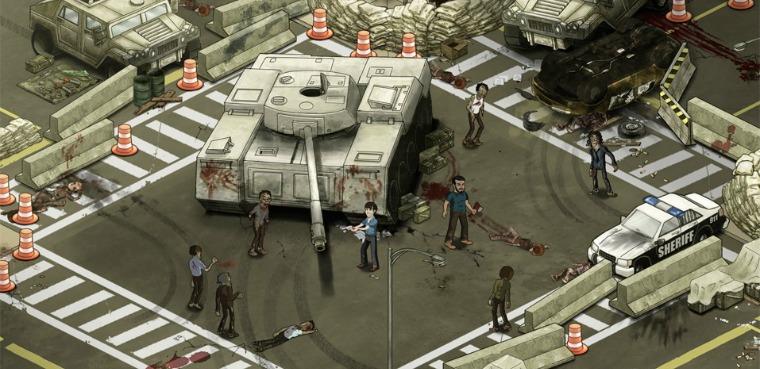The Walking Dead: el juego para Facebook