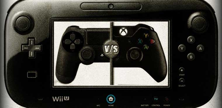 Nintendo Wii U vs PS4 Xbox One