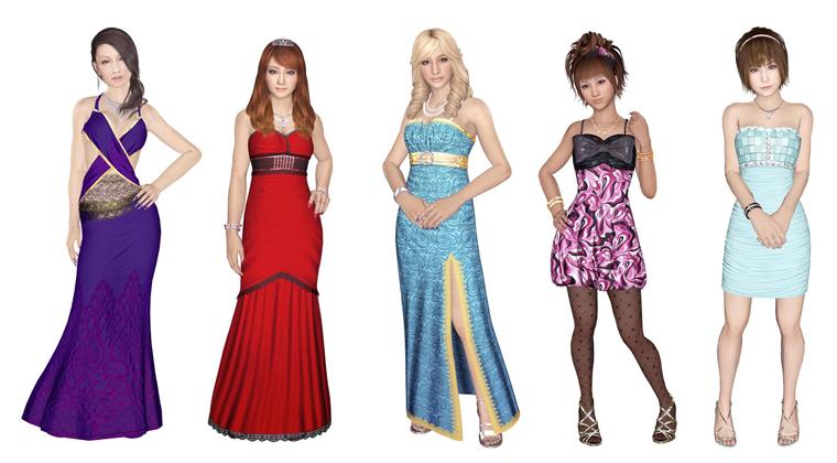 Yakuza 5 - chicas