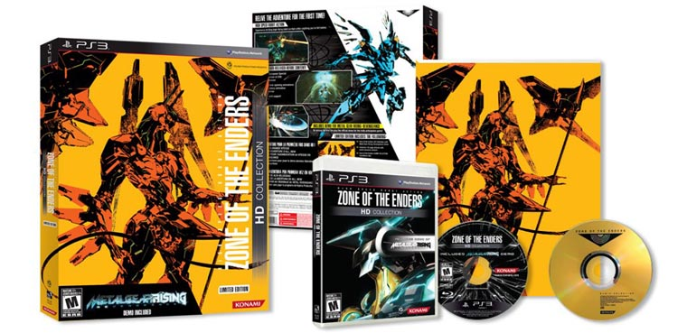 Zone of the Enders HD Collection para PS3 y Xbox 360