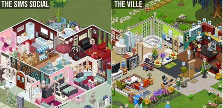 The Sims Social - The Ville